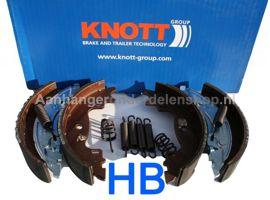 Remschoenen  Knott Set- 16-1635 160x35