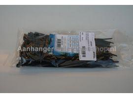 Kabelbundelband Zwart 3.6x140mm  100st