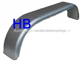 Spatbord Tandem-asser 22cmx155 cm Rond