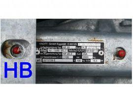 Knott Oplooprem KF20 1100-2000KG Console
