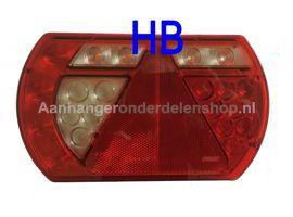 LED Achterlamp Lucidity Li 12V Con 5pol
