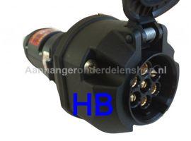 Omvormer Adapter 24 V>12V  Euro - 7Polig