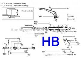 Handrem Peitz PAV/SR 1.3-2.0 X-40mm bus