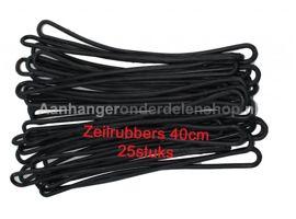 Zeil elastiek / Spanrubber Lengte 40 cm