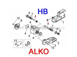 Alko Friction AKS1300 Stabilisatorkop