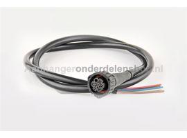 Connector AMP 7P + 1mtr kabel Fristom