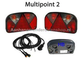 Verlichtingset Multipoint 2 13P-8mtr.