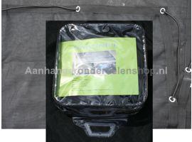 Ladingnet Fijnmazig 450x250 cm zwart pvc