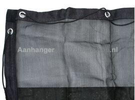 Ladingnet Fijnmazig 550x250 cm zwart pvc