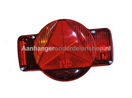 Achterlamp Humbaur Links 5P-con H