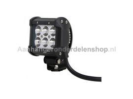 Werklamp LED LB0031-Vierkant 9-32V 18W