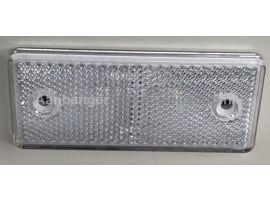 Reflector Wit 90x40 mm  plak / schroef