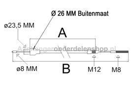 Remkabel BPW 1755/1530 No:05.089.33.87.0