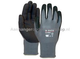 Handschoen M-safe Foam zwatr maat 9