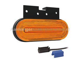 Breedtelamp LED Oranje  Fristom FT-072